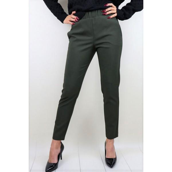 Spodnie materiałowe khaki