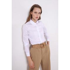 IMPERIAL Biała koszula damska