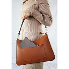 Skórzana Shopper Bag damska...