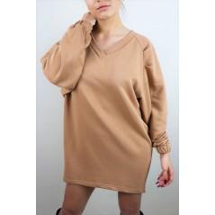 Bluza basic nude