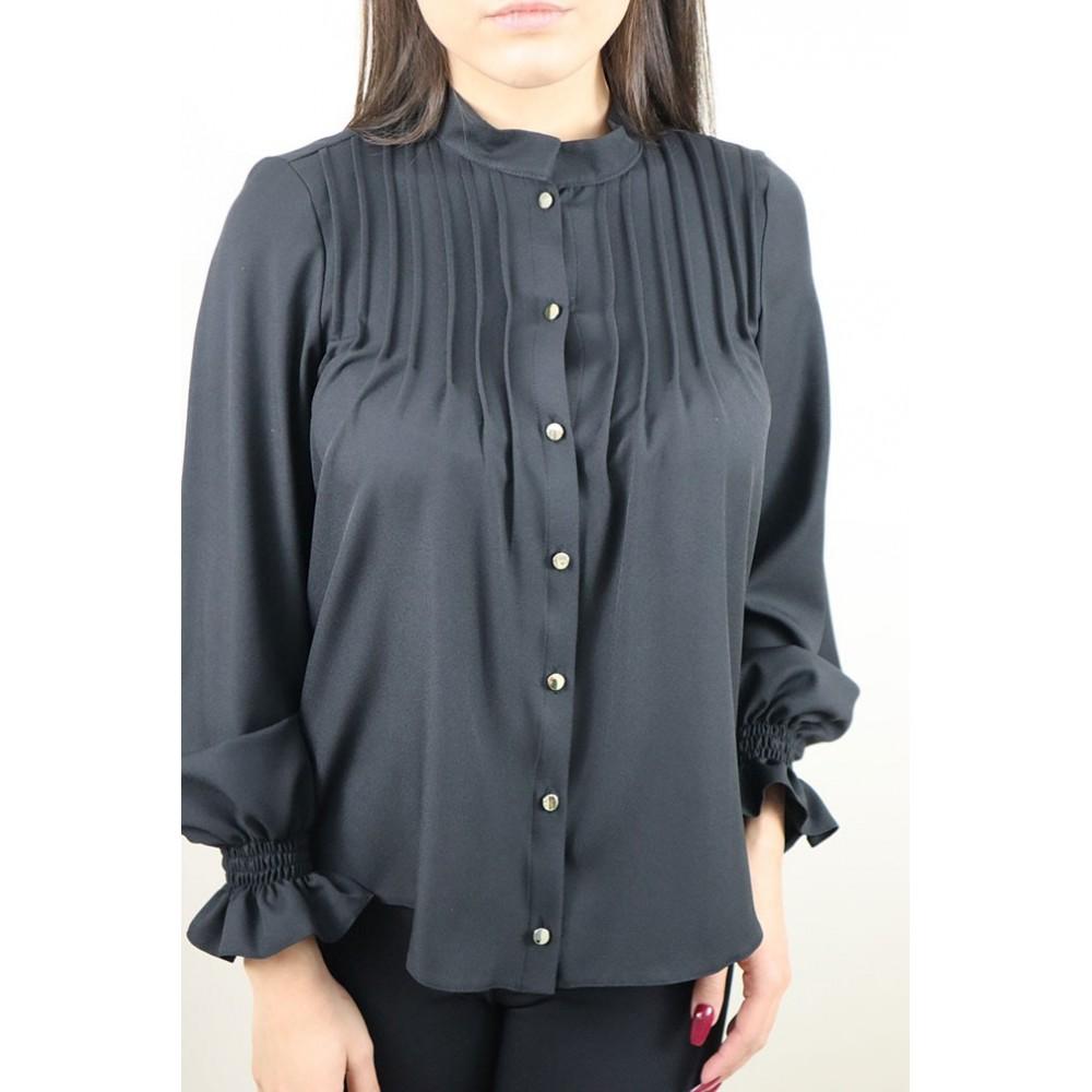 Czarna elegancka koszula