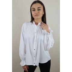 Biała elegancka koszula