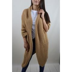 Swetrowa kamizelka bezrękawnik