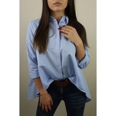 Niebieska koszula basic