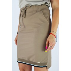 Spódnica damska MEGI w tonacji cappucino