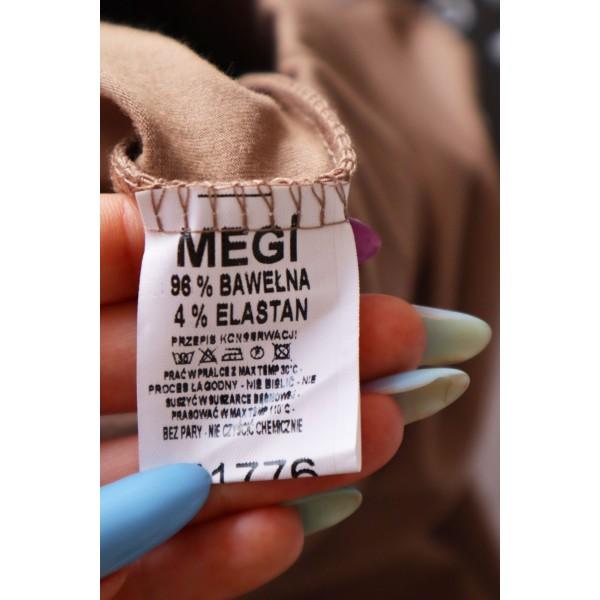 Spódnica damska MEGI w tonacji cytrynowej