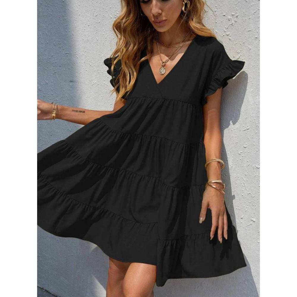 Sukienka damska oversize czarna idealna na lato
