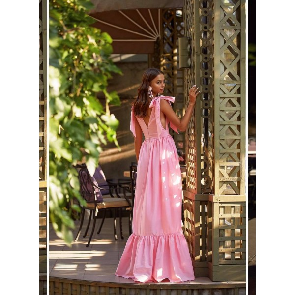Maxi sukienka damska długa idealna na lato