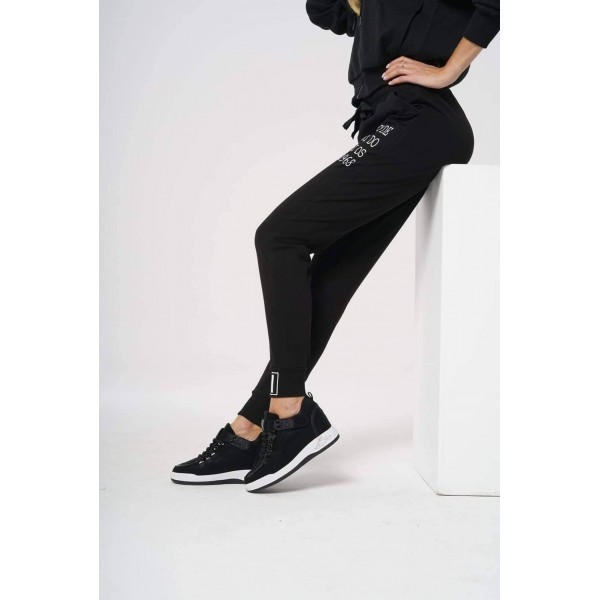 Spodnie dresowe z napisami