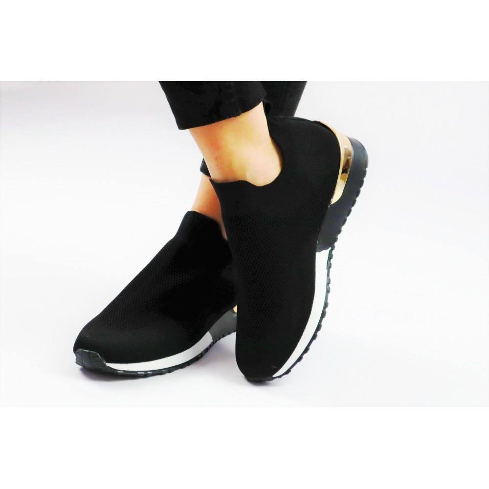 Czarne sneakersy z...