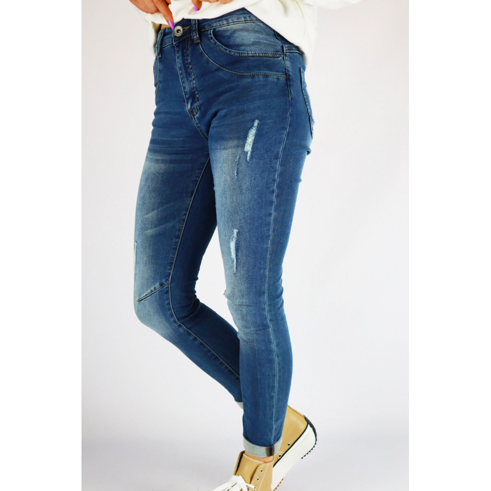 Spodnie damskie jeansowe...
