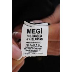 Czarna bluza damska MEGI w złote grafiki piesków