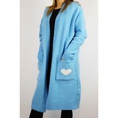 Kardigan damski Cocomore baby blue WILD TRIP