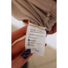 Sukienka damska w kolorze cappucino z grafiką LU JO