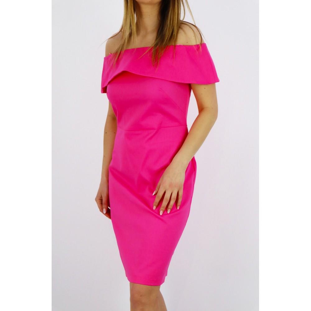 Hiszpanka damska różowa elegancka