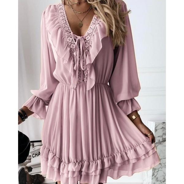 Różowa sukienka damska idealna na lato